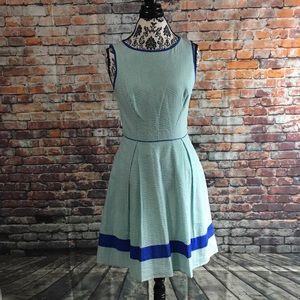Jessica Simpson Seersucker  Dress women's Size 6
